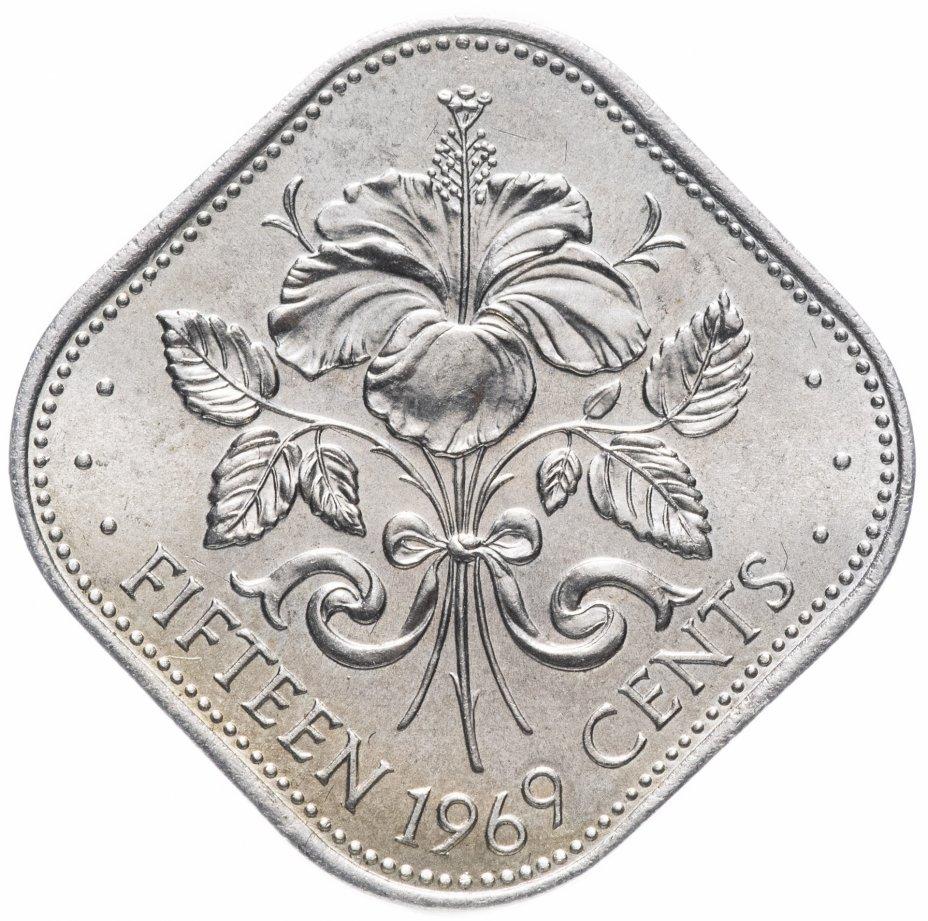 купить Багамы 15 центов 1969