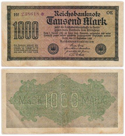 купить Германия 1000 марок 1922 Pick 76d(7)