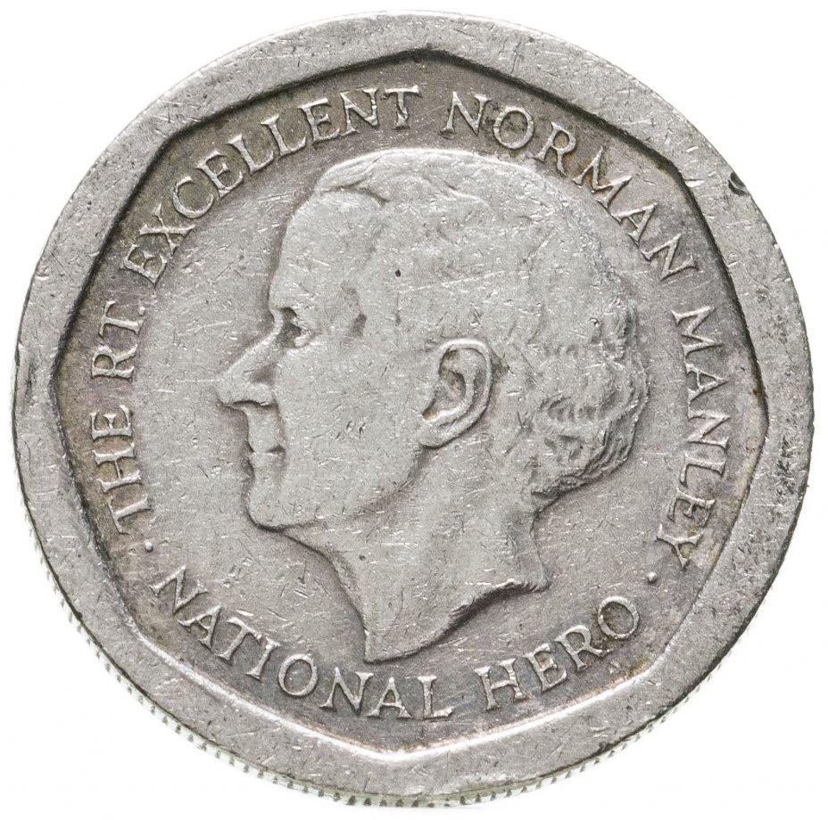 купить Ямайка 5 долларов (dollars) 1994-2018, случайная дата