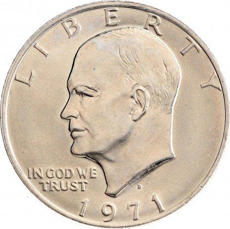 """купить США 1 доллар 1971 D """"Эйзенхауэр"""""""