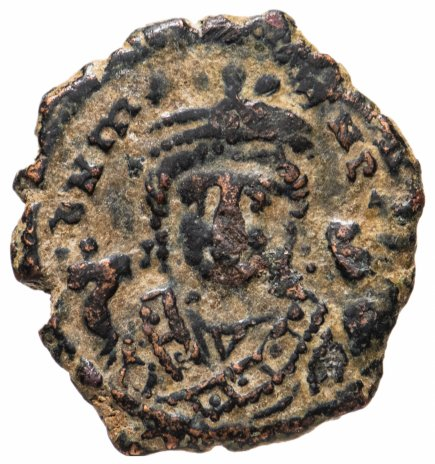 купить Византийская империя, Маврикий Тиберий, 582-602 годы, 1/4 фоллиса.