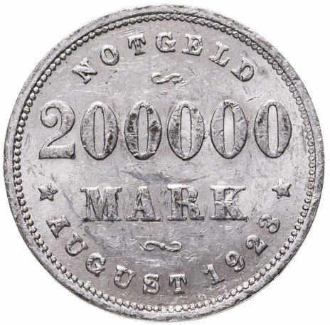 купить Германия (Гамбург) нотгельд 200000 марок 1923