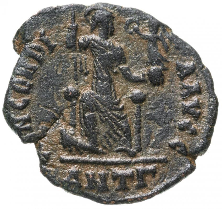 купить Римская империя, Гонорий, 401-402 гг. Нуммий.(Константинополь на галере)