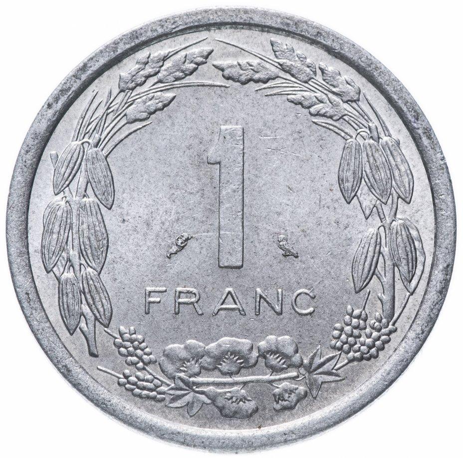 купить Камерун 1 франк 1971