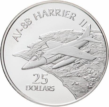 купить Соломоновы Острова 25 долларов 2003 «AV-8B HARRIER II»