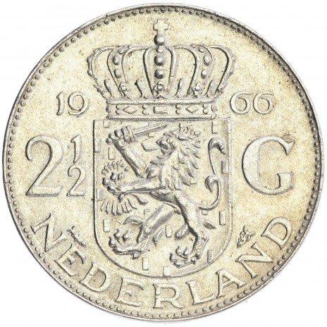 купить Нидерланды 2.5 гульдена 1960