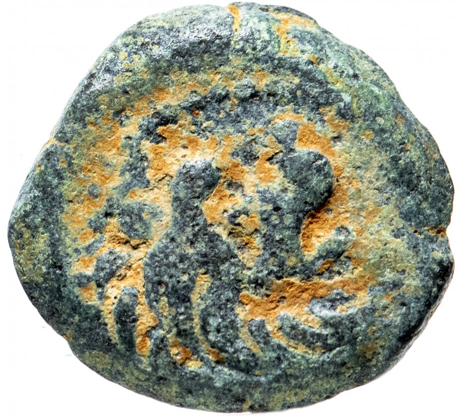 купить Селевкиды, Антиох VII Сидет, 138-129 годы до Р.Х., AE15. (Лев)
