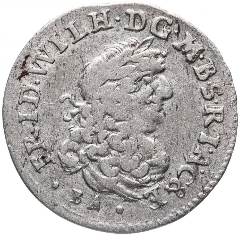 купить Пруссия 1 шостак (6 грошей) 1686
