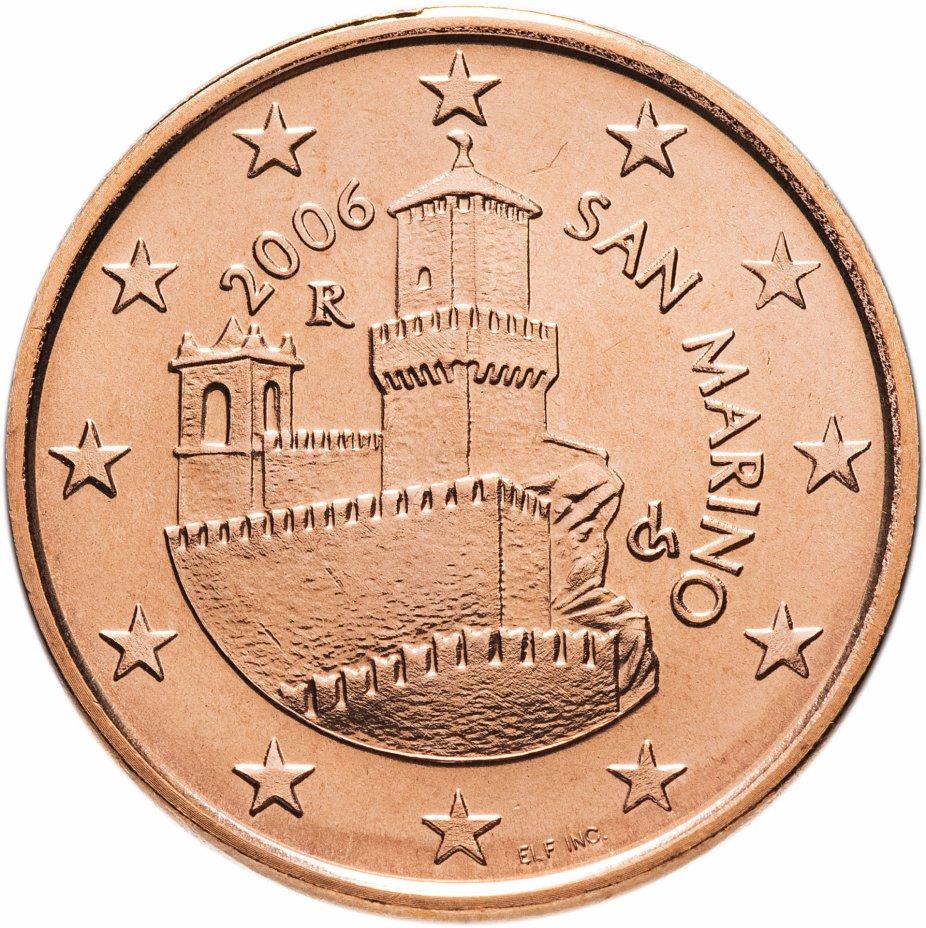 купить Сан-Марино 5 центов (cents) 2006