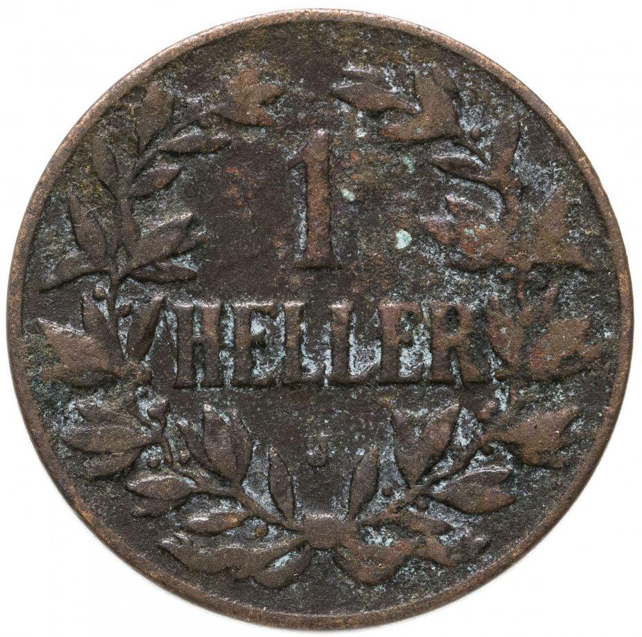 """купить Германская Восточная Африка 1 геллер 1905 """"J"""""""