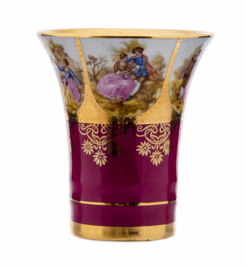 """купить Чашка для кофе, фарфор, деколь, золочение, мануфактура """"D.W. Karlsbader"""", Австрия, 1960-1980 гг."""