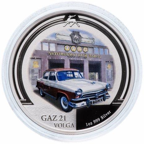 """купить Ниуэ 2 доллара (dollars) 2008 """"Старые советские автомобили - ГАЗ-21 Волга"""""""