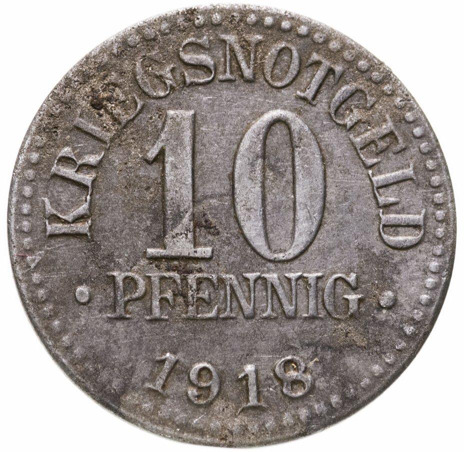купить Германия (Брауншвейг) нотгельд  10 пфеннигов 1918
