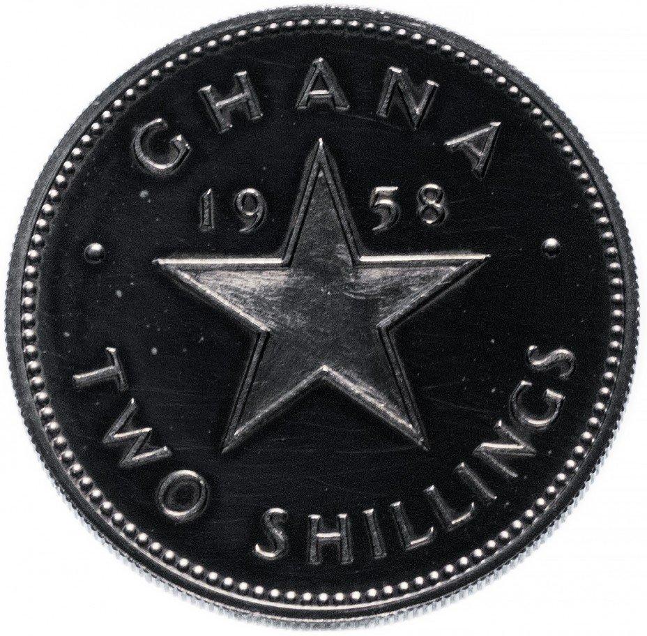 купить Гана 2 шиллинга 1958