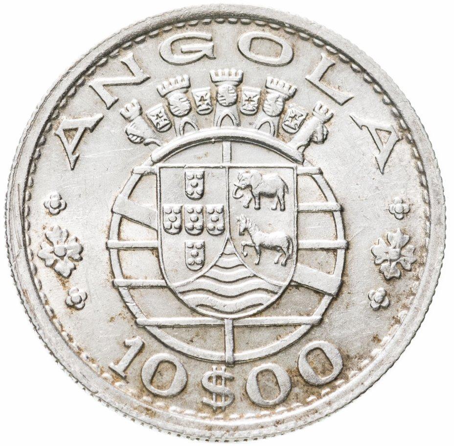 купить Ангола 10 эскудо (escudos) 1955