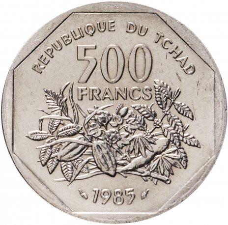 купить Чад 500 франков (francs) 1985