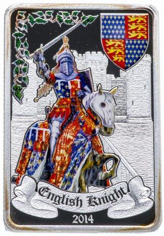купить Бенин 1000 франков 2014 «Английский рыцарь»