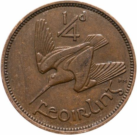 купить Ирландия 1/4 пенни (1 фартинг) 1936