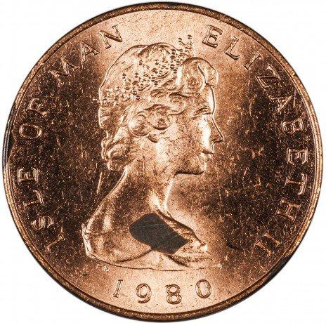 купить Остров Мэн 1 пенни 1980