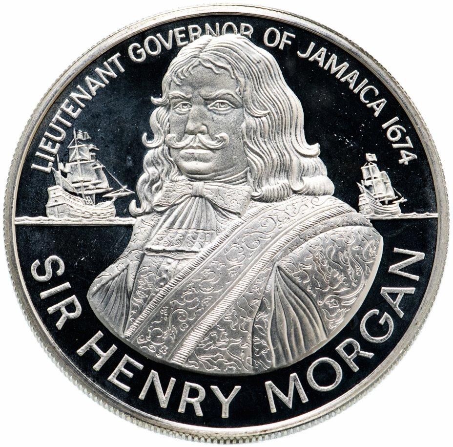 "купить Ямайка 10 долларов (dollars) 1974 ""Сэр Генри Морган"""