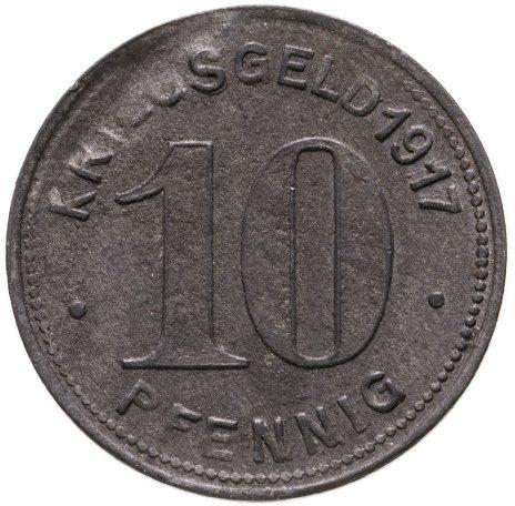 купить Германия (Эльберфельд) нотгельд 10 пфеннигов 1917