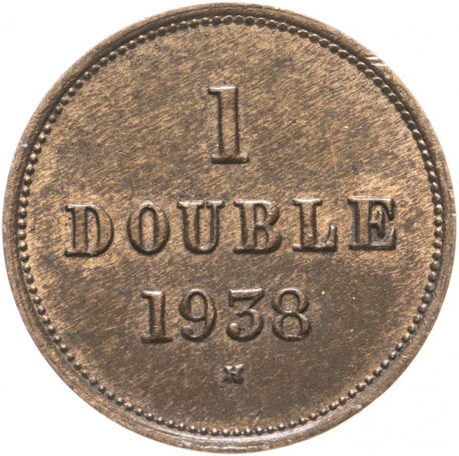 купить Гернси 1 дубль (double) 1938