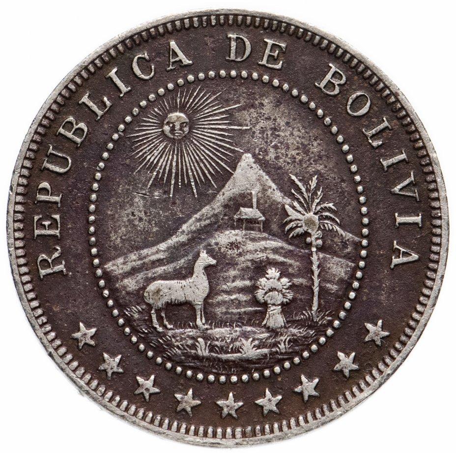 купить Боливия 5 сентаво (centavos) 1907