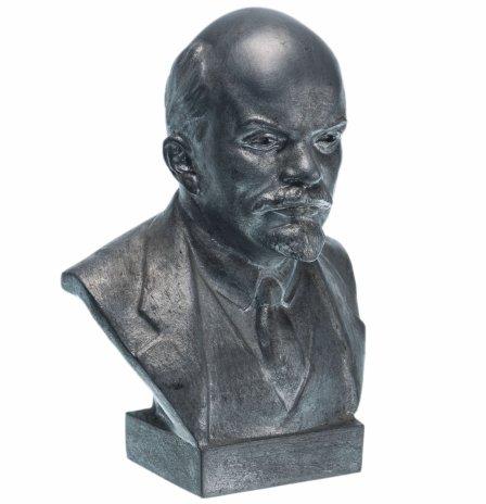 """купить Бюст """"Владимир Ильич Ленин"""", силумин, СССР, 1970-1980 гг."""
