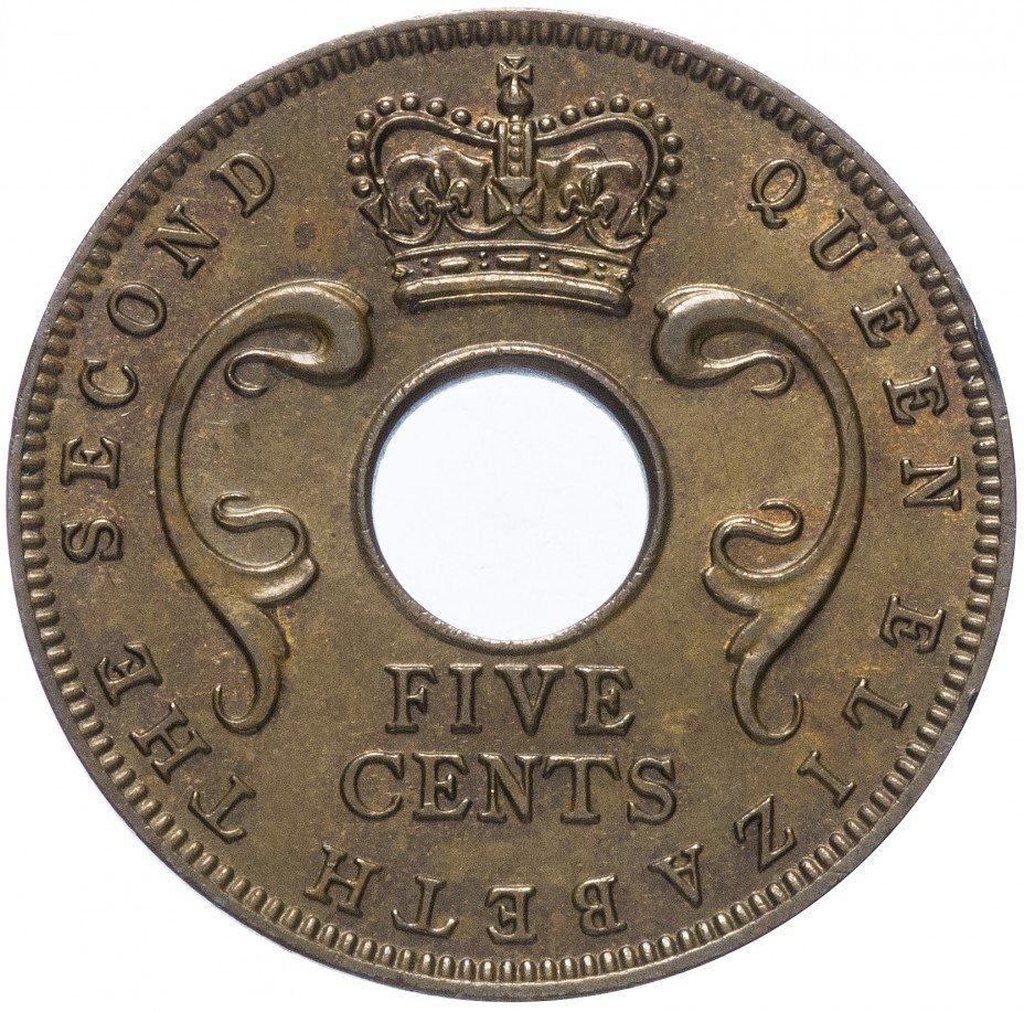 купить Восточная Африка 5 центов 1955