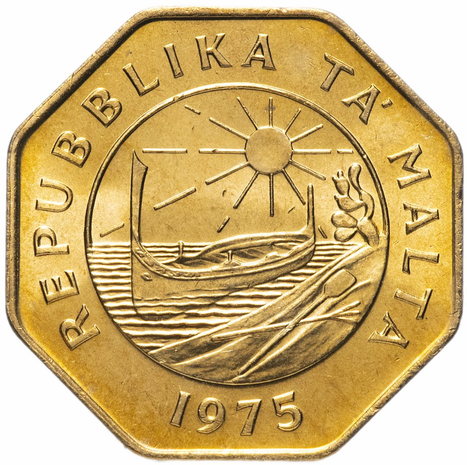 купить Мальта 25 центов (cents) 1975