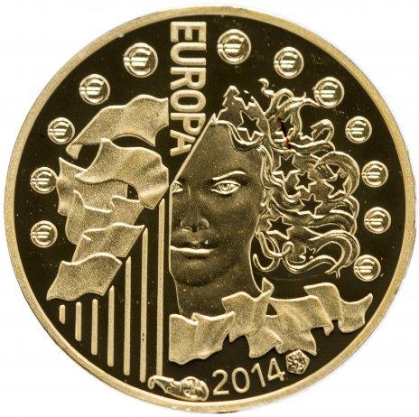 """купить Франция 5 евро 2014 Proof """"50-летие Европейского космического агентства"""""""