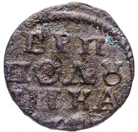 купить полушка 1718-1722 без обозначения монетного двора