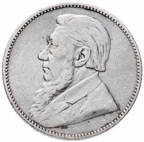 купить Южно-Африканская Республика (Трансвааль) 1 шиллинг 1892 год Президент Пауль Крюгер
