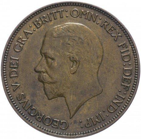 купить Великобритания 1 пенни 1935