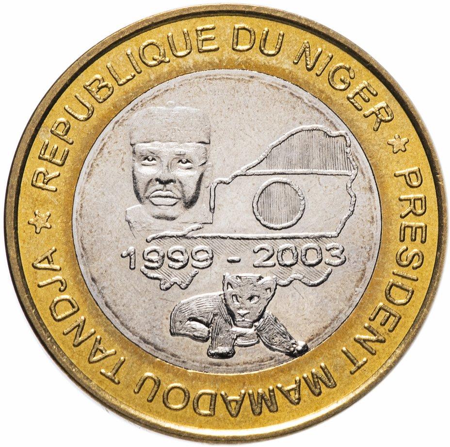 """купить Нигер 6000 франков (francs) 2003 """"Президент Мамаду Танджа"""""""