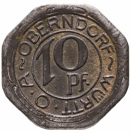 купить Германия (Оберндорф) нотгельд 10 пфеннигов 1918
