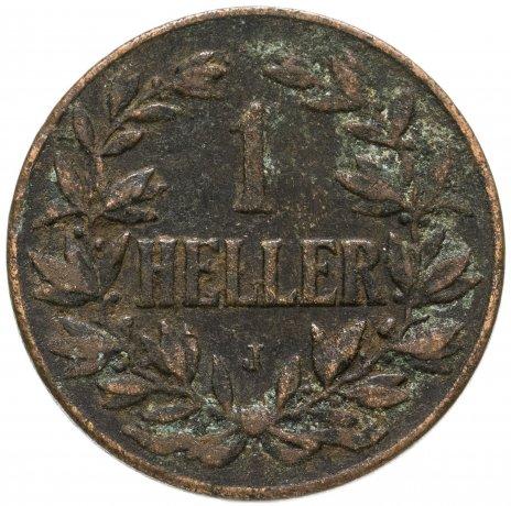 """купить Германская Восточная Африка 1 геллер 1906 """"J"""""""