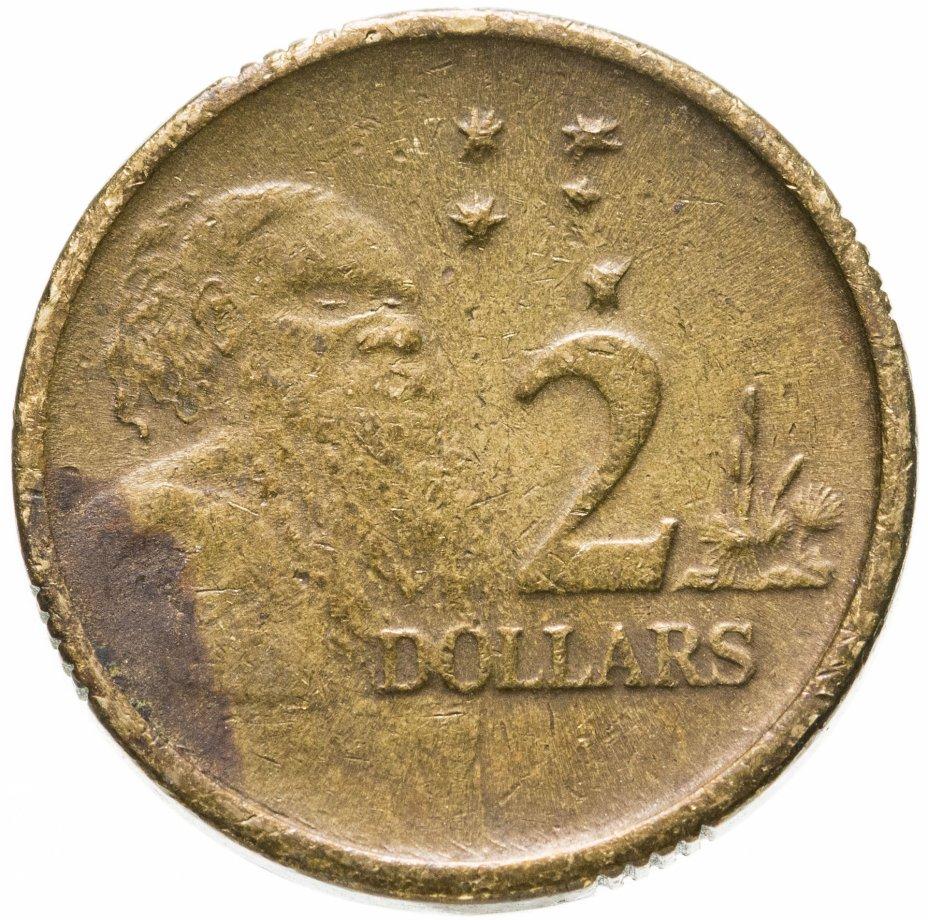 купить Австралия 2 доллара (dollars) 1995