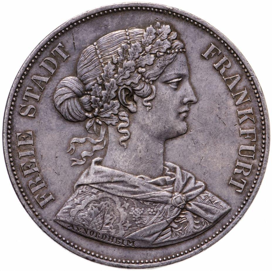 купить Франкфурт 2 талера (союзных талера, vereinsthaler) 1861