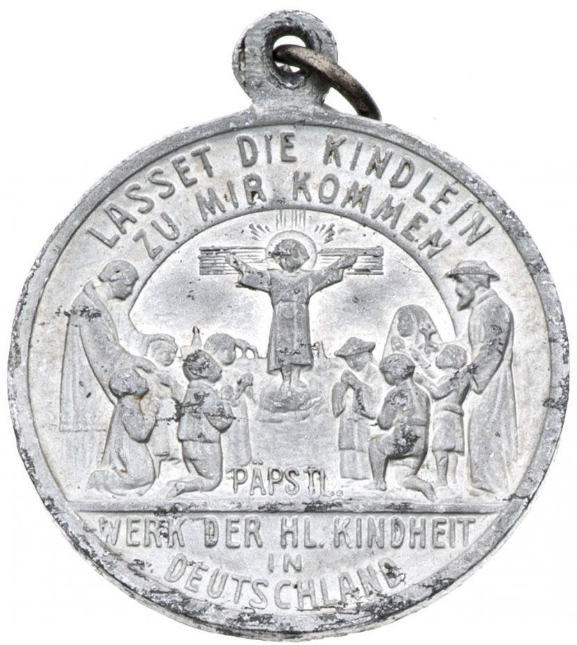 """купить Жетон """"Святая Дева Мария"""" , алюминий, Германия, 1890-1920 гг."""