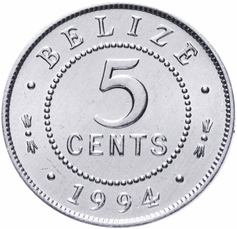 купить Белиз 5 центов (cents) 1994