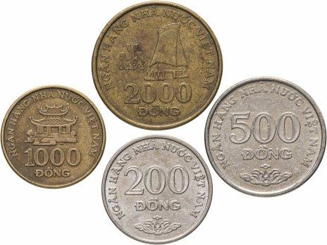 купить Вьетнам, набор из 4 монет 2003 года
