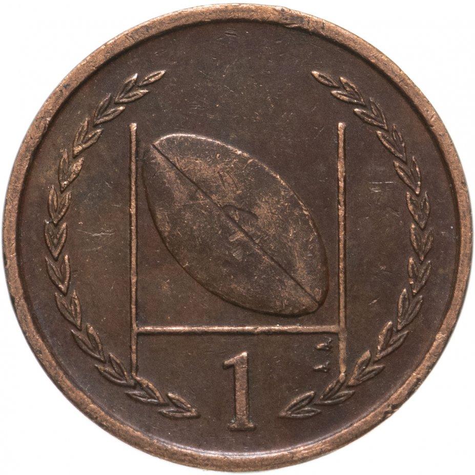 купить Остров Мэн 1 пенни (penny) 1996-1997, случайная дата
