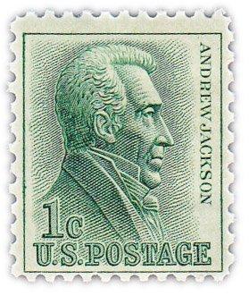 """купить США 1 цент 1963 """"Эндрю Джексон"""""""