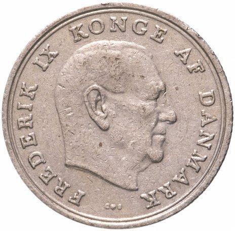купить Дания 1 крона (krone) 1960-1972 Фредерик IX, случайная дата