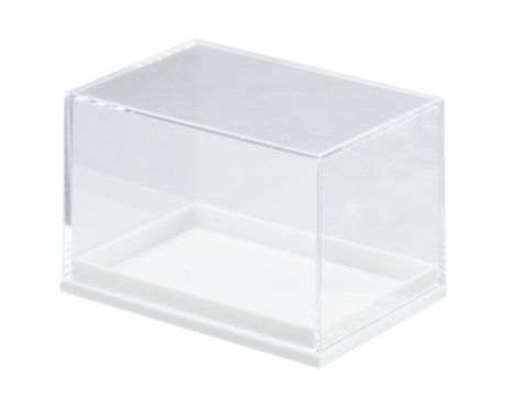 купить Бокс пластиковый для образцов, белый 5,9х4,1х4 см