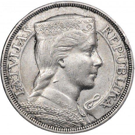 купить Латвия 5 лат 1929