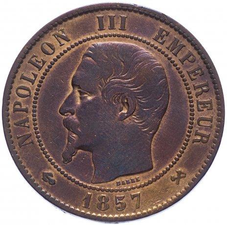 купить Франция 10 сантимов 1857