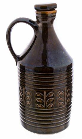 купить Штоф декорированный растительным орнаментом, покрытый глазурью, керамика, СССР, 1970-1990 гг.