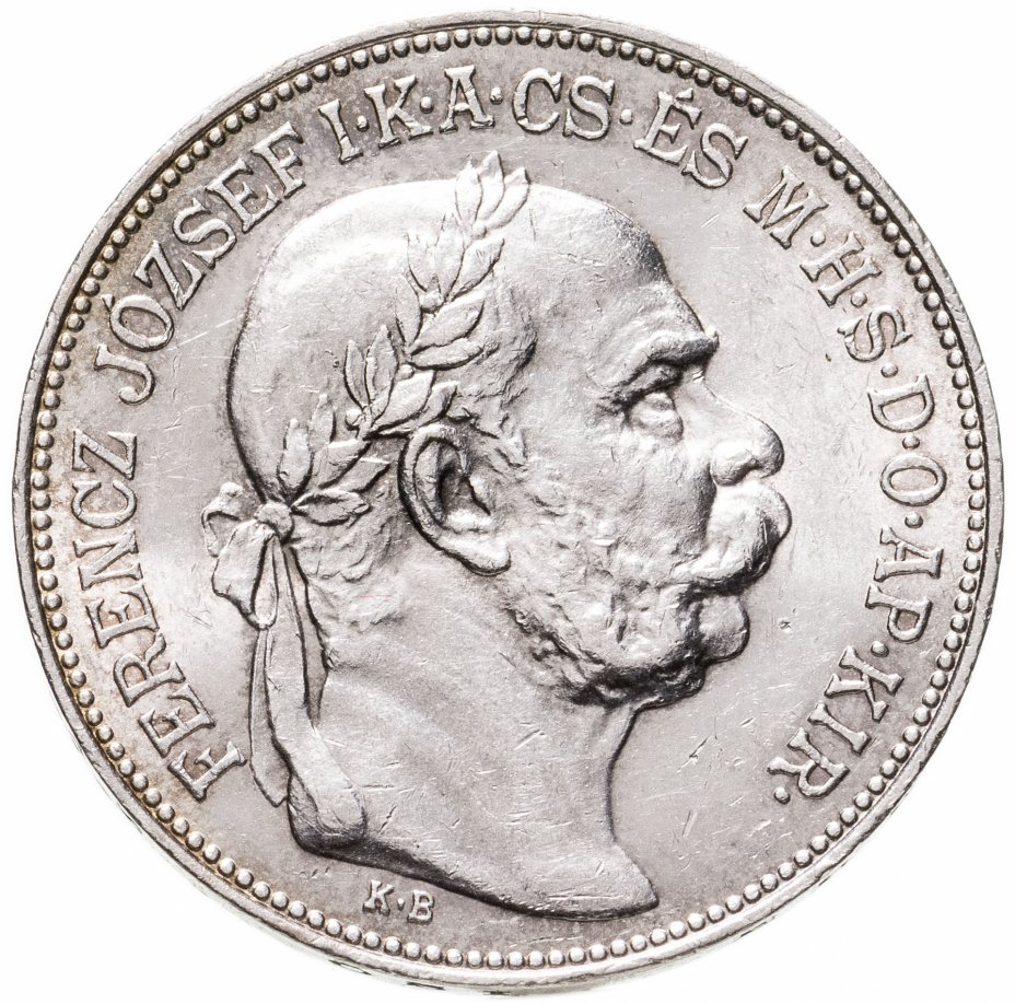 купить Венгрия 2 кроны (corona) 1913